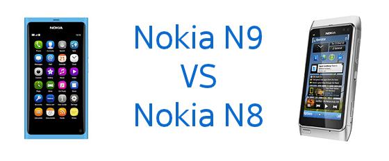 Les 10 grandes différences entre le Nokia N8 et N9 !
