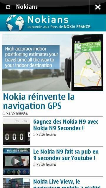L'application des fans de Nokia est disponible !