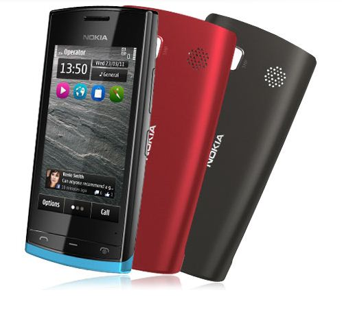 Le Nokia 500 : le smartphone low-cost complet