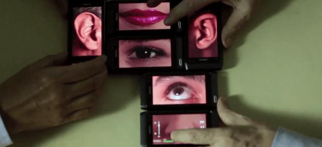 L'art et le Nokia N8 par Guto Lacaz