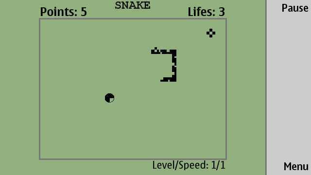 Snake, comme à l'époque !