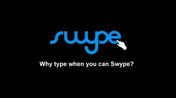 Une nouvelle version de Swype disponible !