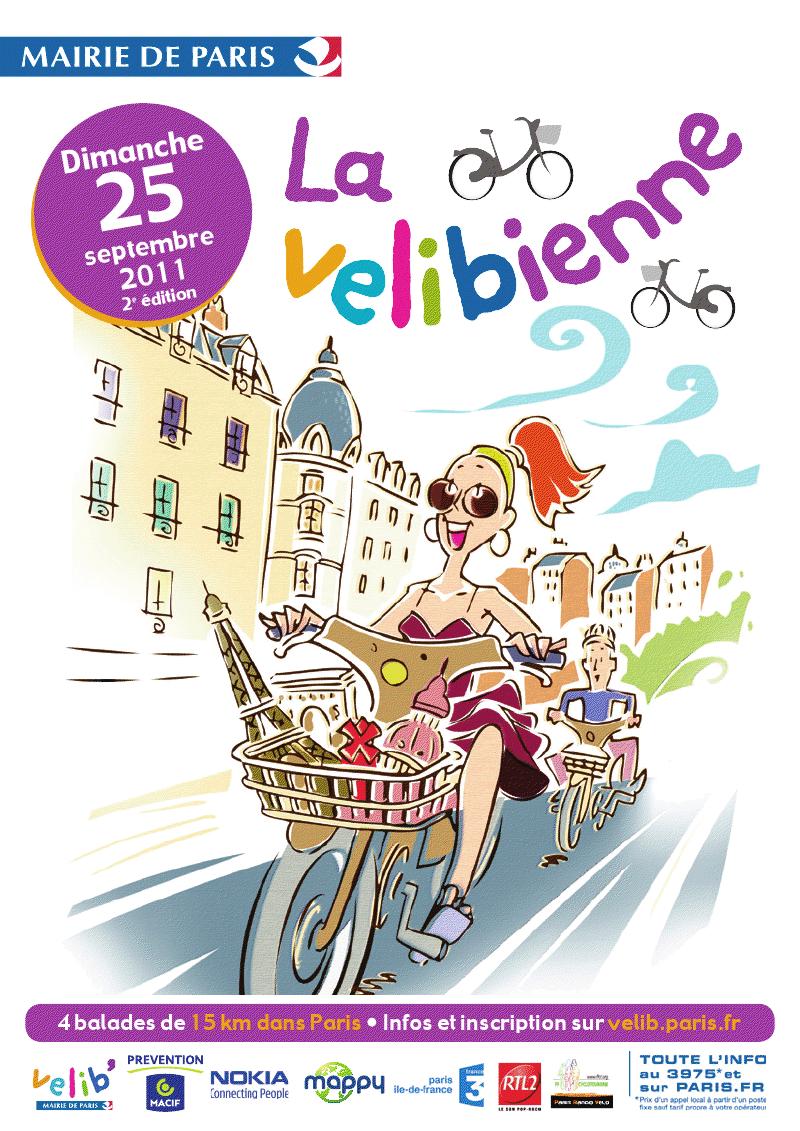 Le bon Plan du week-end par Nokia : La vélibienne [ à Paris ]