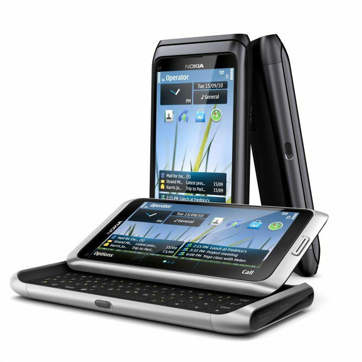 Les fonctionnalités multimédia du Nokia E7