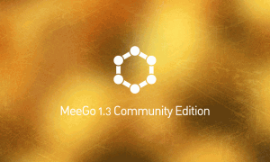 MeeGo 1.3 CE Boot splash Screen N900 Nokiansfr