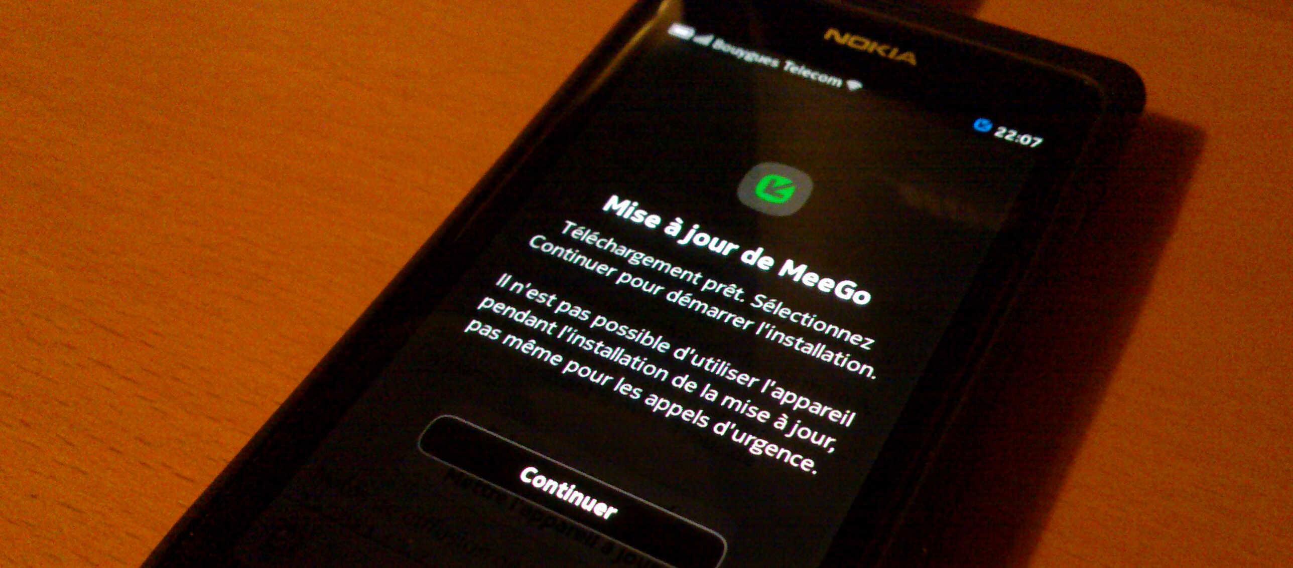 Déploiement de MeeGo-Harmattan PR 1.2 pour le Nokia N9