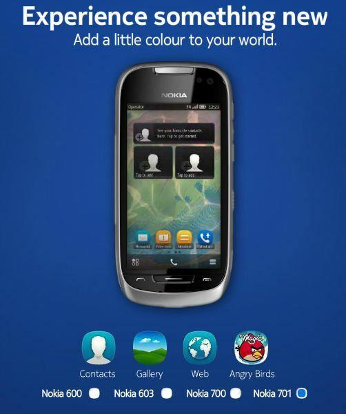 Nouveau Widget Web pour Nokia Symbian Belle