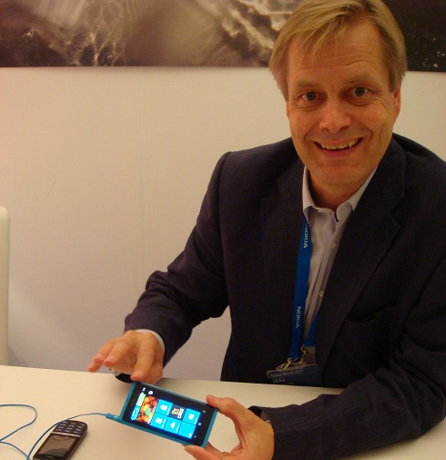 Interview de Ukko Lappalainen au Nokia World