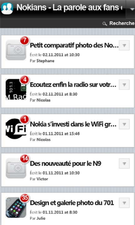 L'application Nokians dispo sur Windows Phone !