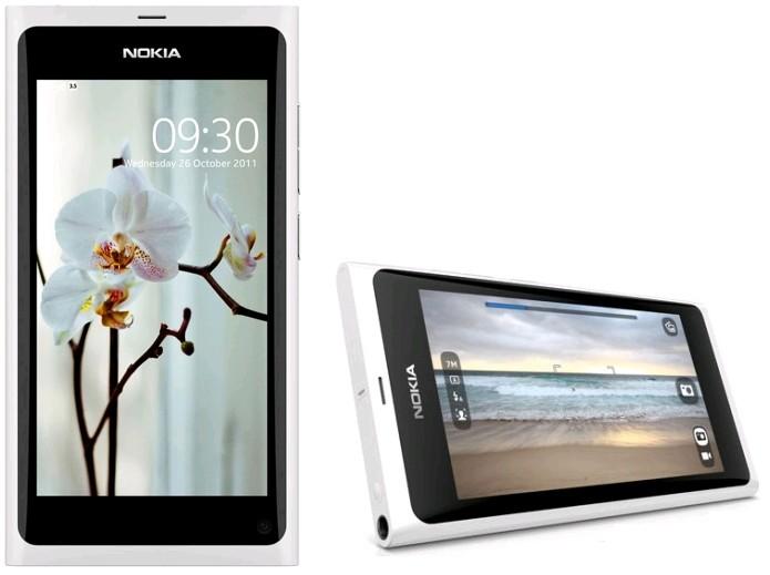 Le Nokia N9 Blanc 64 Go en vente en Finlande