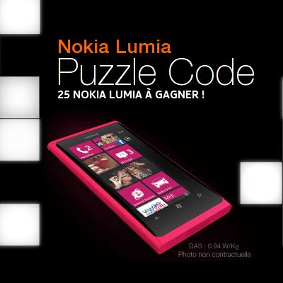 Jeu concours Orange France, 25 Nokia Lumia 800 à gagner !