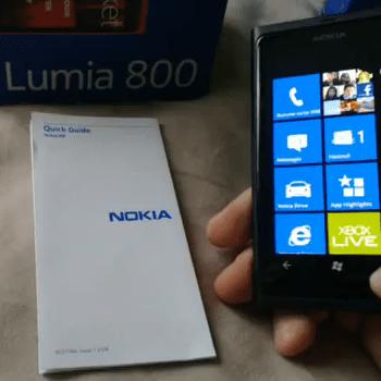 Reconnaissance OCR et traduction automatique sur le Nokia Lumia 800