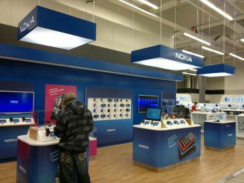 Bonnes ventes de fin d'année pour Nokia Finlande