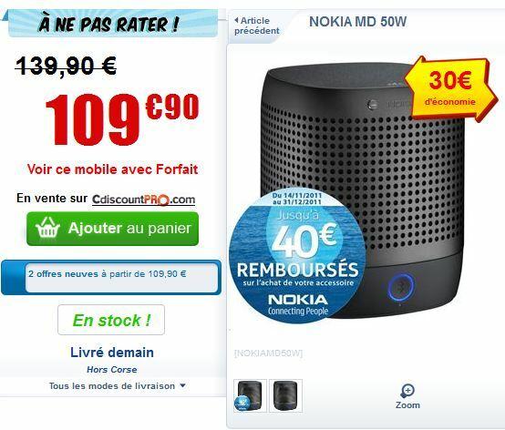 Le Nokia Play 360 pour moins de 70€!