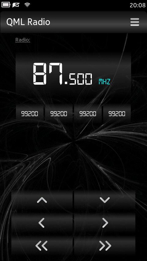 QML Radio, une nouvelle application radio FM pour votre Nokia N9
