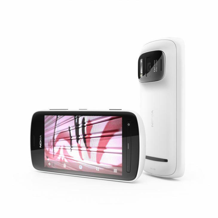 Nokia 808 PureView blanc à 470€ chez PriceMinister