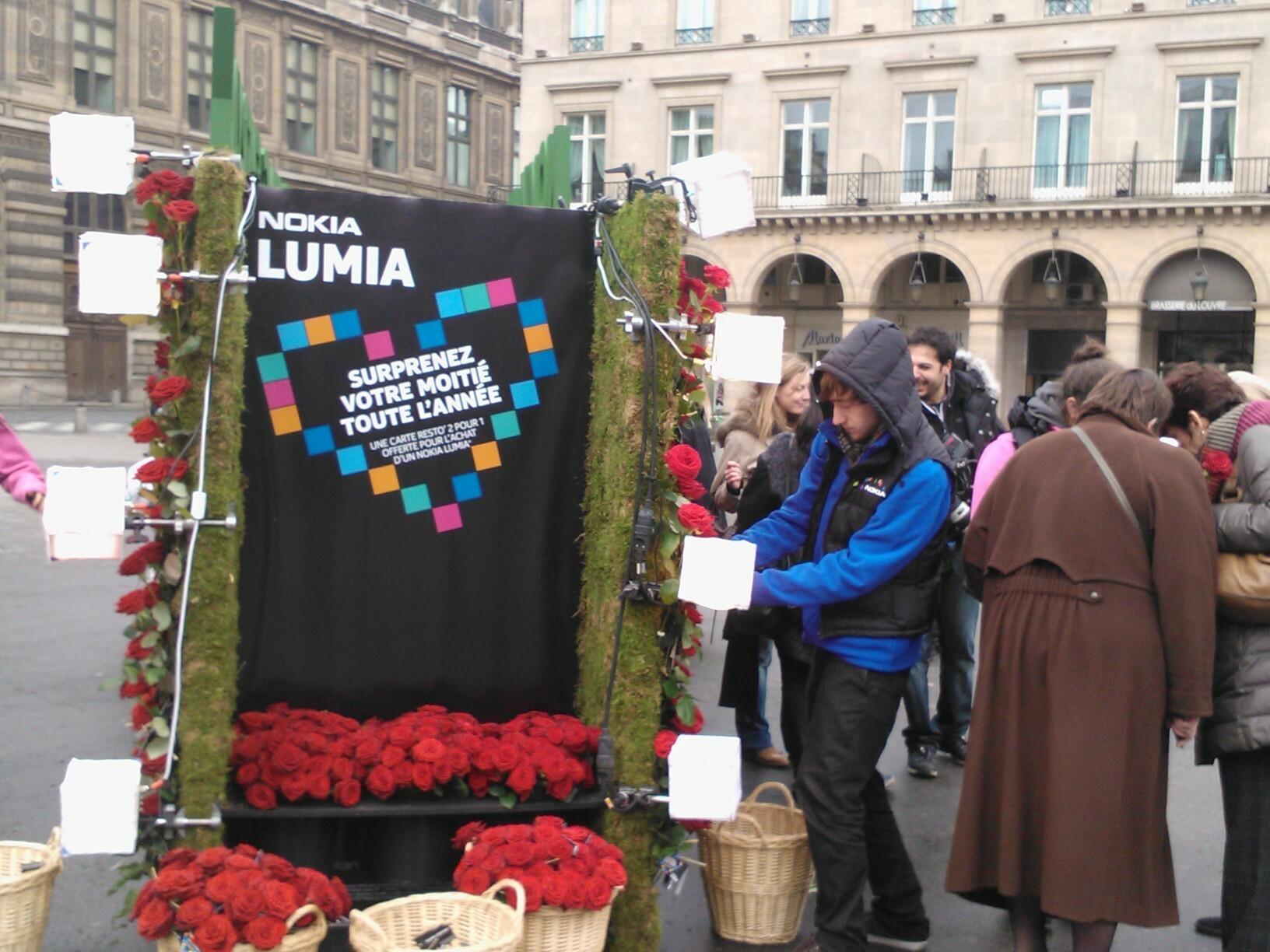 Une Amazing Saint-Valentin à Paris avec Nokia France
