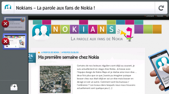 Firefox disponible pour le Nokia N9 / N950 – Nokians – La ...