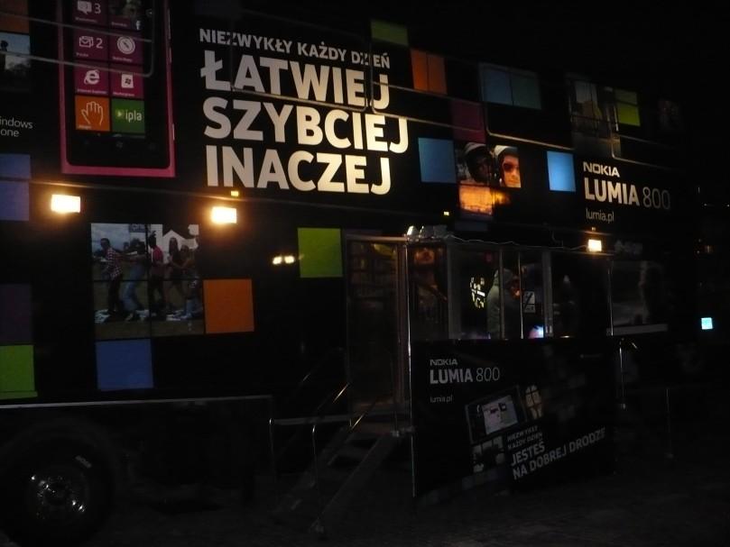 Lancement du Nokia Lumia 800 en Pologne