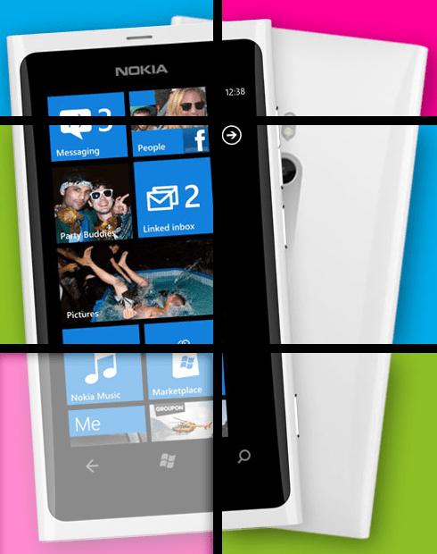 Gagnez un Nokia Lumia 800 Blanc