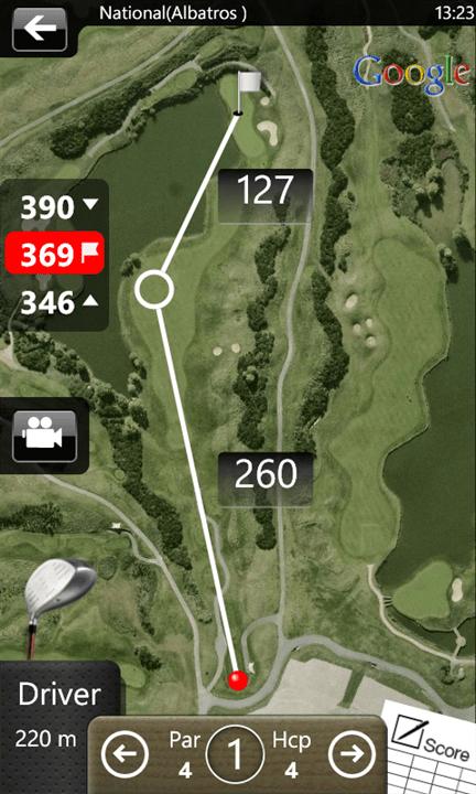 Mobitee : l'appli pour jouer au Golf, en vrai !