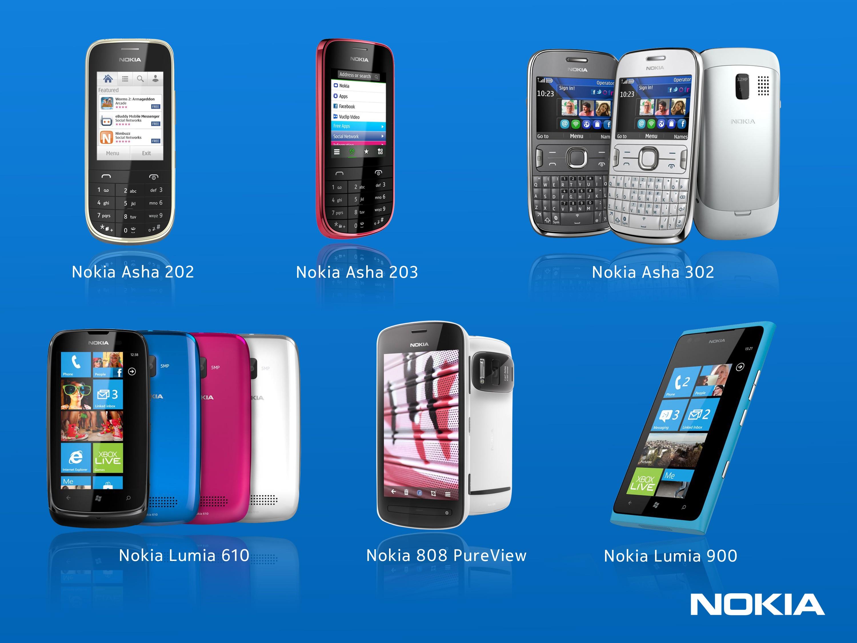 Six nouveaux Nokia au Mobile World Congress, lequel préférez-vous ?