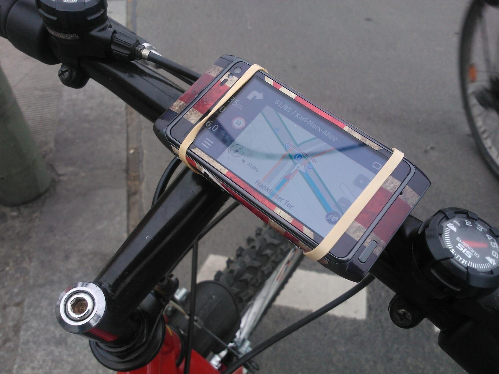Support de vélo pour N8