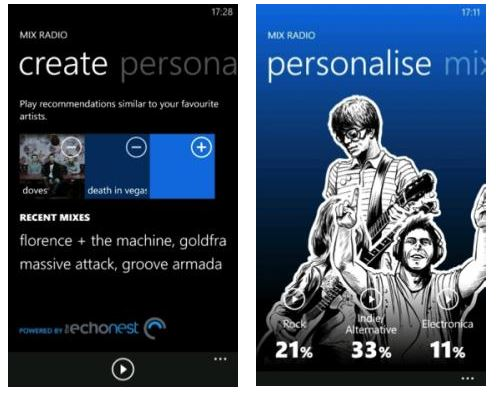 Nokia Music disponible en V2.0 pour Nokia Lumia