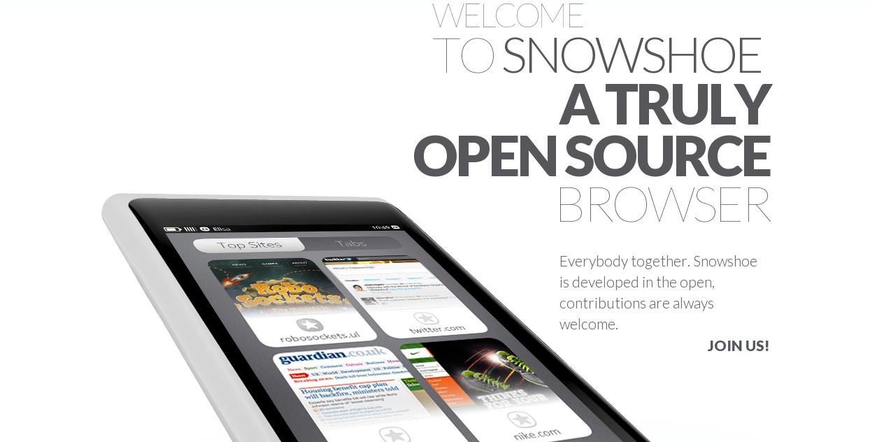 Snowshoe, un nouveau navigateur internet Qt5 à tester sur le Nokia N9