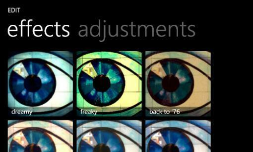 Studio Créatif pour Windows Phone