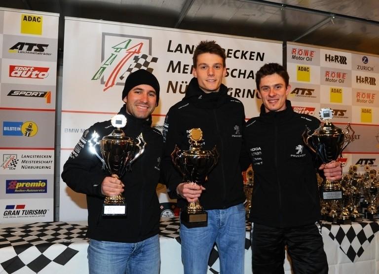 Victoire de la team Peugeot RCZ Nokia pour l'épreuve d'ouverture de la saison du Championnat d'Endurance VLN en Allemagne