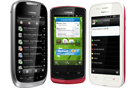 Microsoft Office disponible pour Symbian^3
