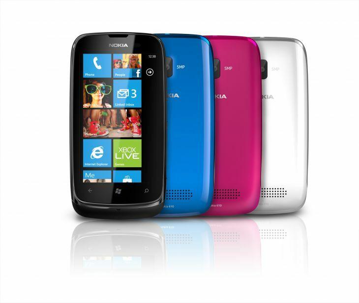 Déploiement d'une mise à jour pour le Nokia Lumia 610