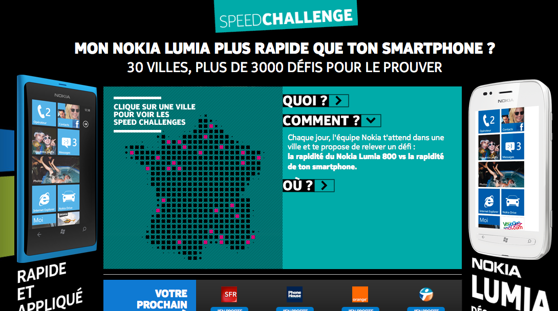 Nokia Speed Challenge débarque en France !