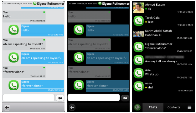 WazApp, WhatsApp pour le Nokia N9 / N950, le code source disponible !