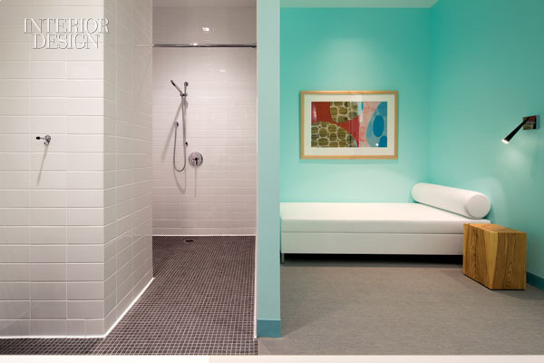 360838-Wellness_suites_complete_with_ceramic_tiled_showers_welcome_visiting_colleagues_Photograph_by_Nic_Lehoux_