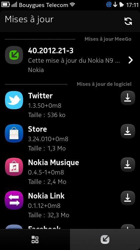Mise à jour PR1.3 (40.2012.21-3) en cours de déploiement pour le Nokia N9, Inception 0.2 disponible