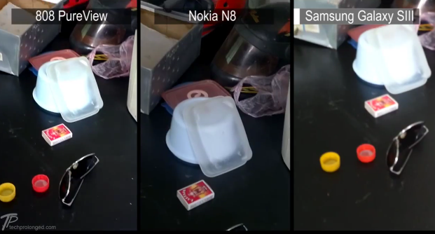 Nokia 808 PureView vs Nokia N8 vs Samsung Galaxy SIII