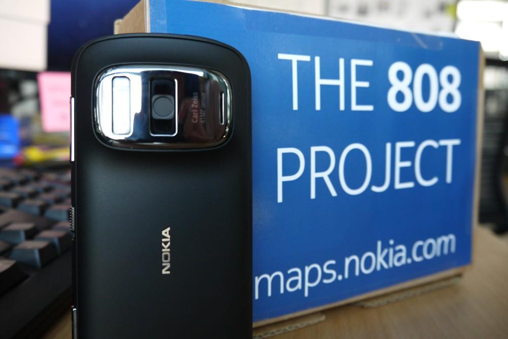 Exclusivité Nokians : Nokia Maps lance un 808 Pureview dans les airs