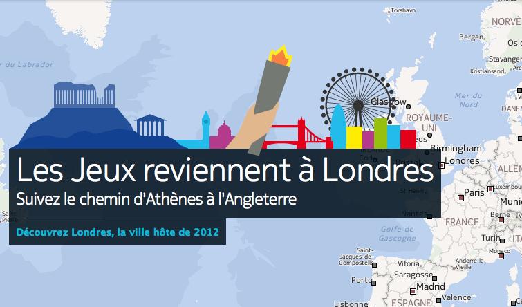 Suivez le chemin des Jeux Olympiques avec Nokia Maps