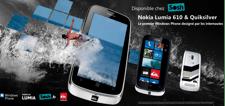 Le Nokia 610 Quicksilver, créé par les internautes, disponible chez Sosh !