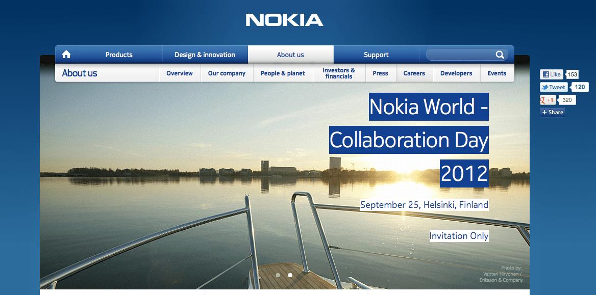 On aura quand même un Nokia World ?