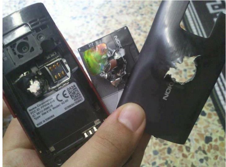 Un Nokia X2 sauve une vie