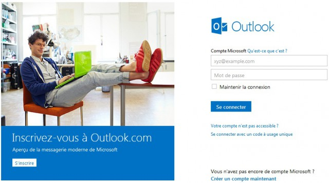 Ne migrez pas votre LiveID vers @outlook.com