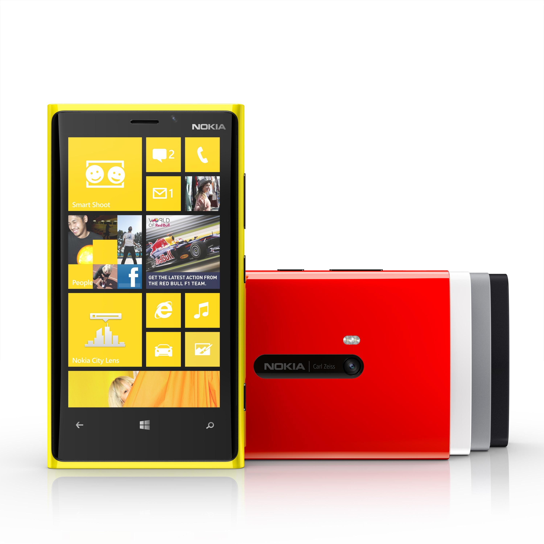 Nokia Lumia 920 jaune, rouge et noir en pré-commande chez The Phone House