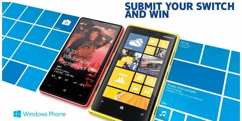Vous voulez gagner un Lumia 920 ?