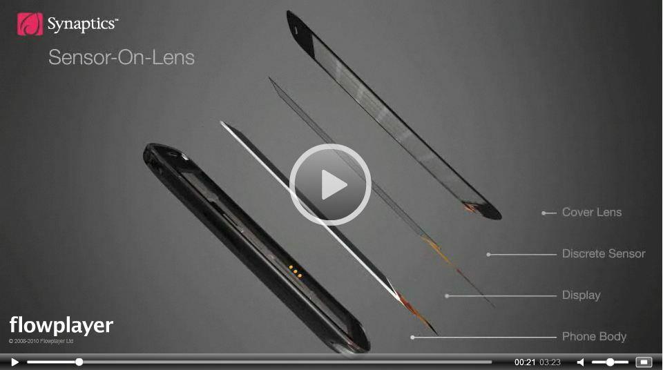 Décrochez votre mobile même avec des gants, grâce à l'écran tactile Synaptics ClearPad