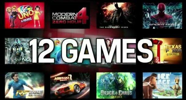 Concours Gameloft, gagnez un Lumia 820 ou des points Xbox