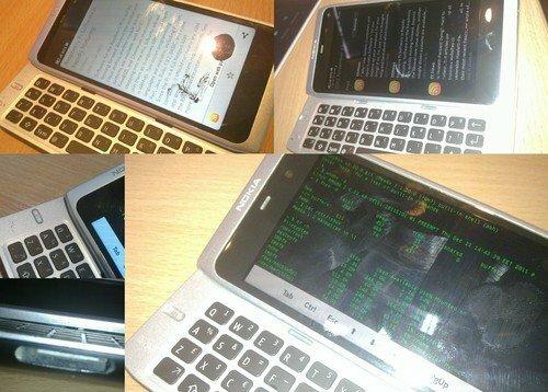 Un prototype du Nokia N950 Silver en vente sur Ebay