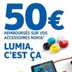 50€ remboursés sur les accessoires Nokia Lumia 820 & 920